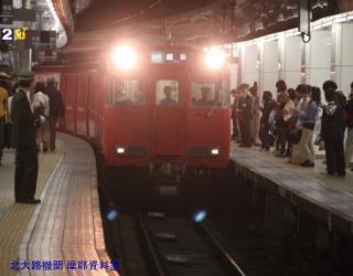 名鉄名古屋駅、最初に6000系 1