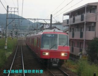 名鉄 犬山遊園周辺に各線の電車が集合 3