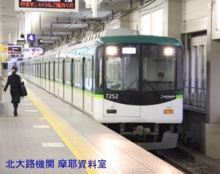 京阪本線の花形8000の並び 1