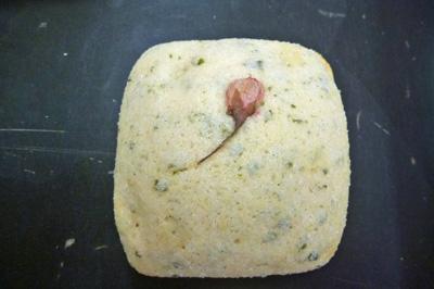 四角メロンパン