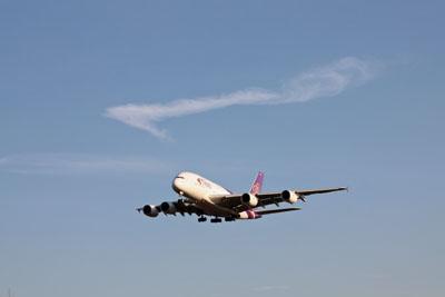 飛行機の雲 (1)