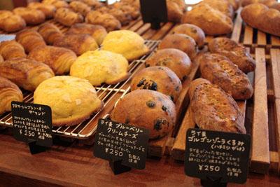 ブーランジェリームギのパン