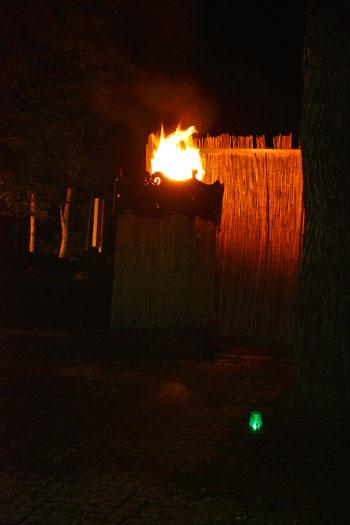 アイヌ 火祭り (1)