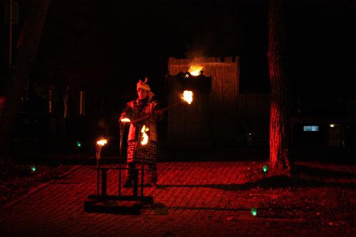 アイヌ 火祭り (4)