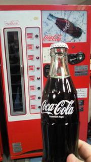 瓶のコーラ
