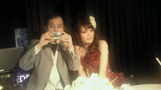 圭吾さん、結婚式
