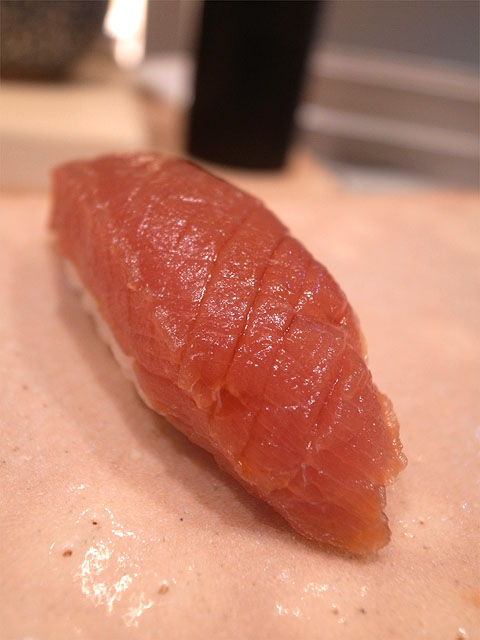 131101鮨紺乃-大西洋冷凍マグロ