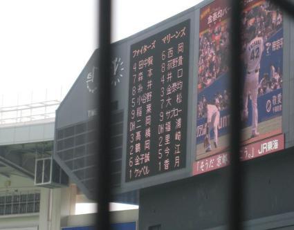 5月5日スタメン