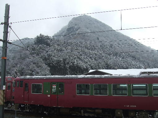 レトロな列車