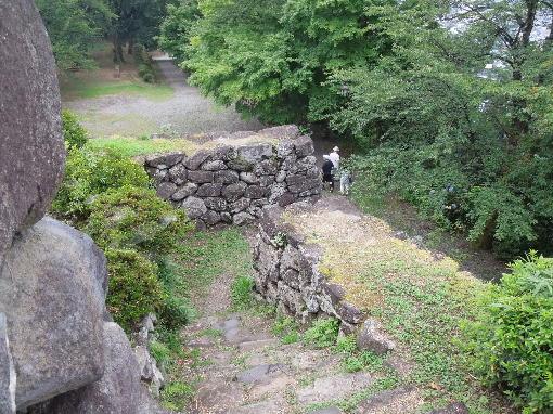 8.高い石垣