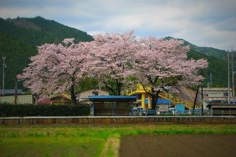 長良川鉄道・福野駅