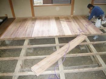 和室畳下板張2