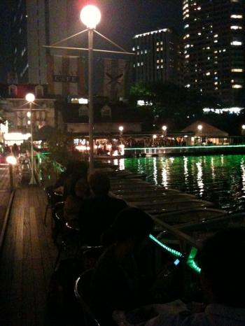 Canal Cafe night