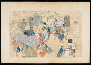 1301日蓮聖人辻説法図