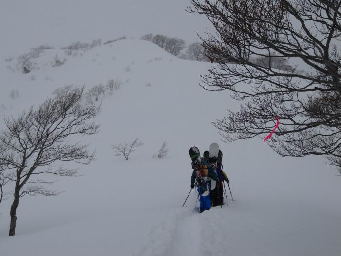 大日ヶ岳BC(1 (16)