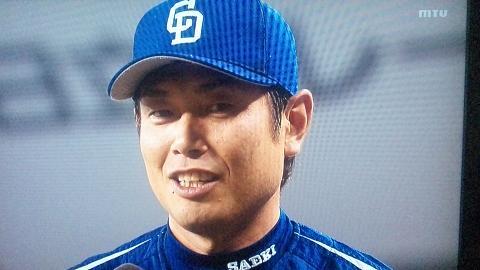 佐伯選手ヒーローインタビュー