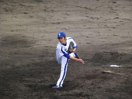 2011年4月24日ファーム矢地投手