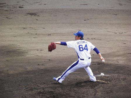 2011年4月24日ファーム小熊投手
