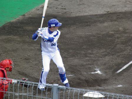 2011年4月24日達郎選手1