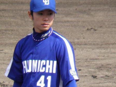 4月24日投手陣練習9