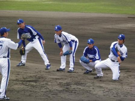 4月24日投手陣練習10
