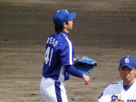 4月24日投手陣練習8