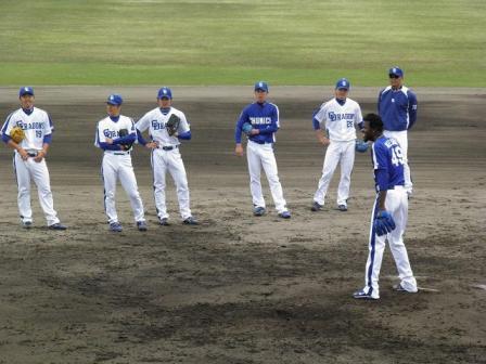 4月24日投手陣練習7