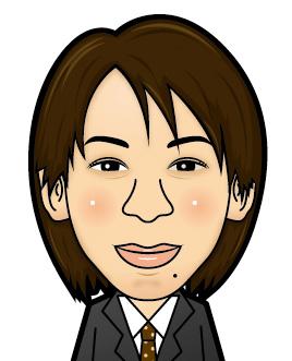 司法書士木戸さん似顔絵