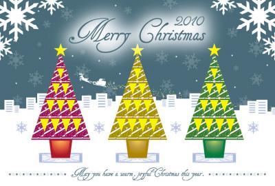 2010.12.24クリスマスイラスト