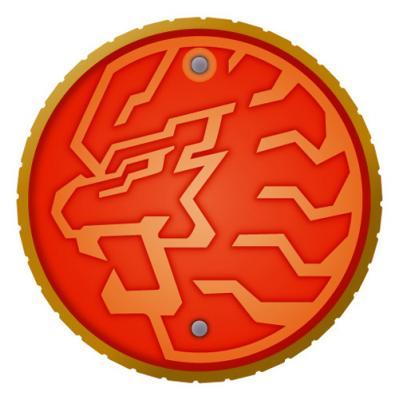 ライオンメダル