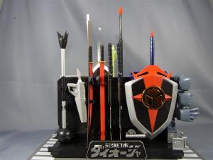 超合金魂 GX-61 最強ロボ ダイオージャ 00 パッケージ&スタンド 1003
