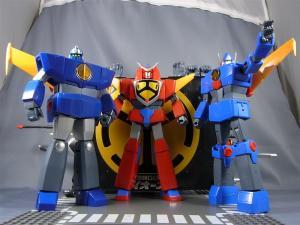 超合金魂 GX-61 最強ロボ ダイオージャ 00 パッケージ&スタンド 1009