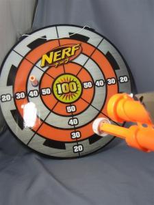 ナーフ ダートタグ ターゲットトレーニングセット オレンジ 1001