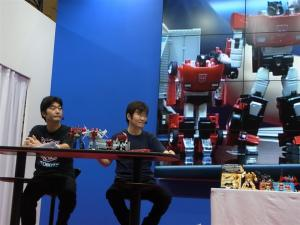 東京おもちゃショー2012 トランスフォーマーイベント035