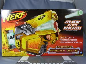 NERF N-STRIKE FIREFLY REV-8 YELLOW001