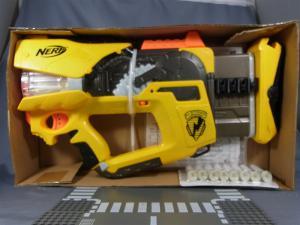 NERF N-STRIKE FIREFLY REV-8 YELLOW003