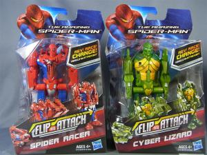 THE AMAZING SPIDER-MAN FLIP AND ATTACK SPIDER RACERCYBER LIZARD003