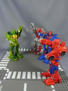 THE AMAZING SPIDER-MAN FLIP AND ATTACK SPIDER RACERCYBER LIZARD011