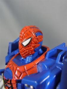 THE AMAZING SPIDER-MAN FLIP AND ATTACK SPIDER JETBATTLE HAULER003