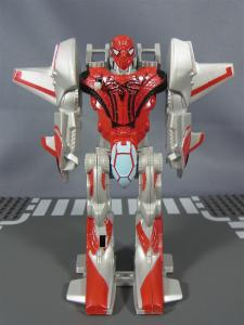 THE AMAZING SPIDER-MAN FLIP AND ATTACK SPIDER JETBATTLE HAULER007