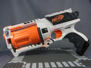 NERF N-STRIKE MARVERICK REV-6 WHITEOUT SERIES007
