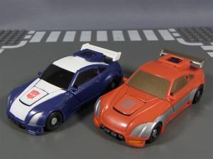 TF ユナイテッドEX レースマスター プライムモード 比較アームズアップ008