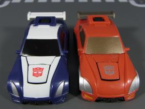 TF ユナイテッドEX レースマスター プライムモード 比較アームズアップ009