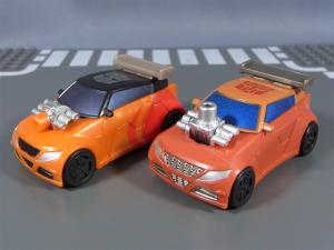 TF ユナイテッドEX レースマスター プライムモード 比較アームズアップ010