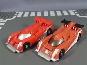 TF ユナイテッドEX レースマスター プライムモード 比較アームズアップ012