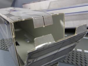 TFプライム アームズマスターオプティマス用ペーパークラフトコンテナ007
