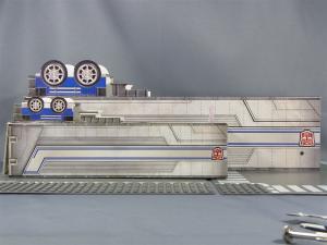 TFプライム アームズマスターオプティマス用ペーパークラフトコンテナ010