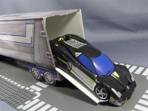 TFプライム アームズマスターオプティマス用ペーパークラフトコンテナ022