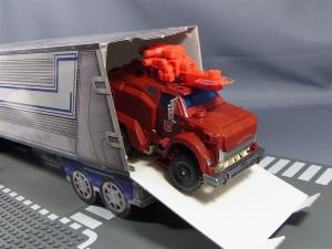 TFプライム アームズマスターオプティマス用ペーパークラフトコンテナ023