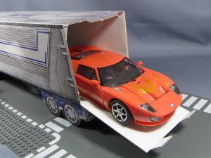 TFプライム アームズマスターオプティマス用ペーパークラフトコンテナ024